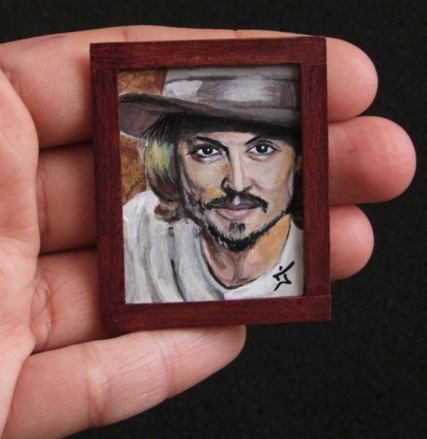 Miniature portrait from your photo