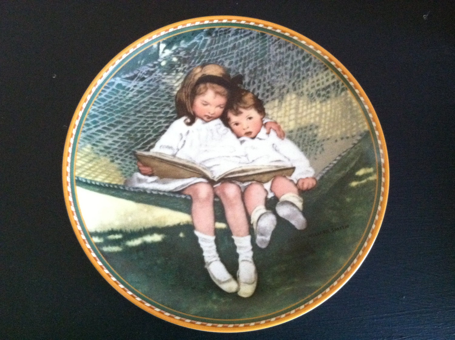 Vintage Story Time Jessie Willcox Smith Collectible Plate - 4evrVintage