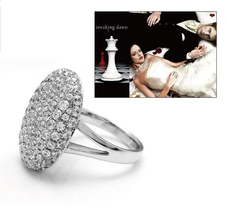 Breaking Dawn Bella 39 S Engagement Ring Rhinestones Charms ALIMY44E