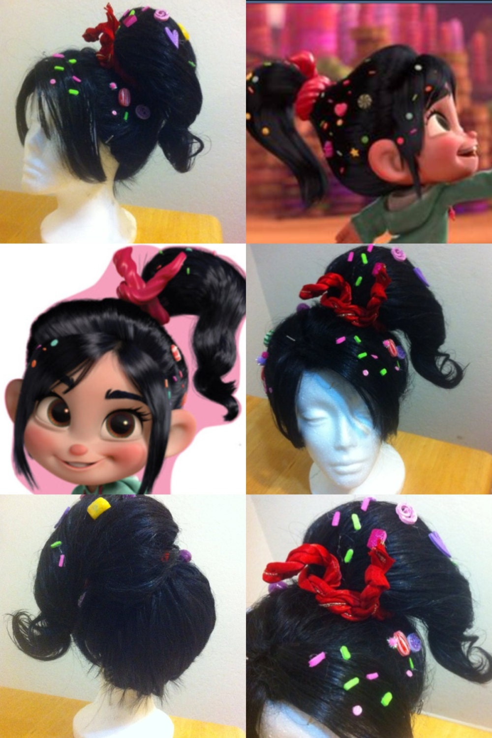 on Pinterest | Wreck It Ralph Costume, Cosplay Hair and Mickey Costume