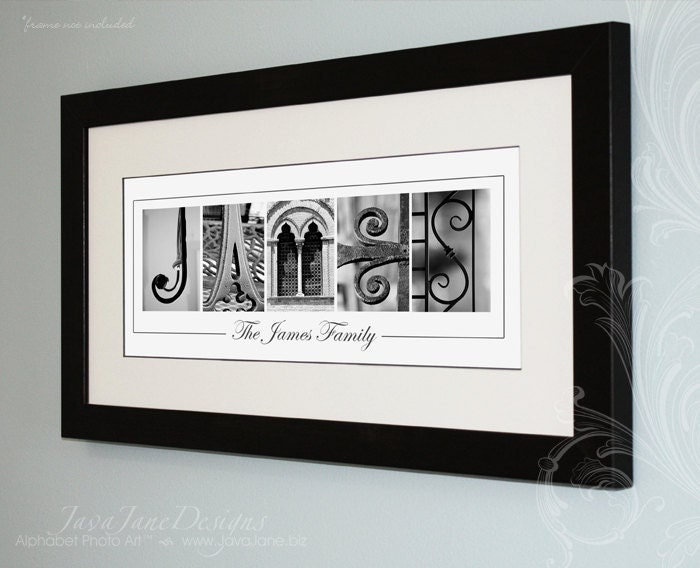 Your name in architecture letter photos custom by for Architectural letter photos