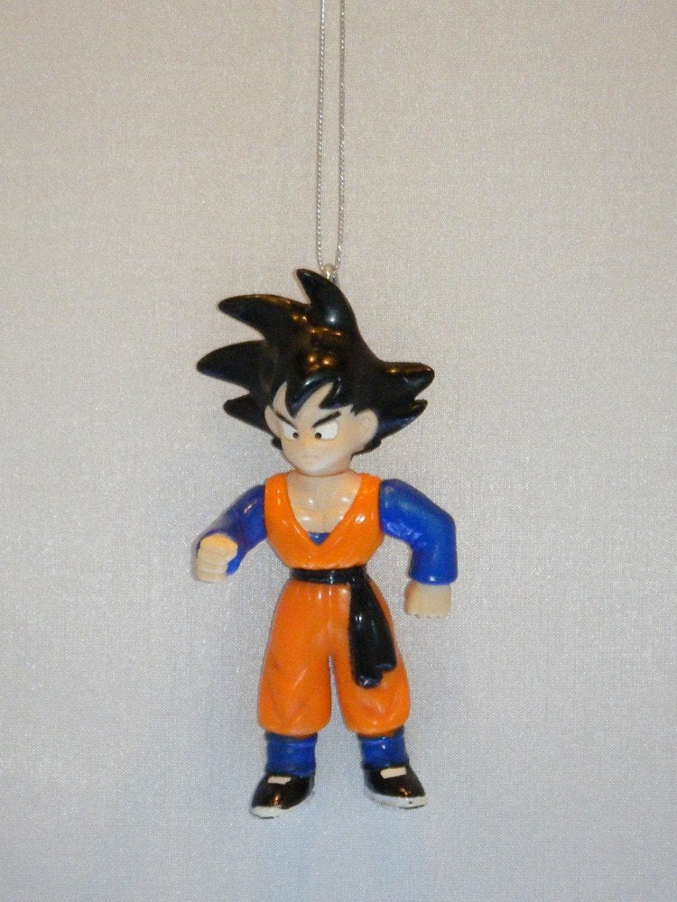 Dragonball Z Goku Christmas Ornament By Regeekery On Etsy