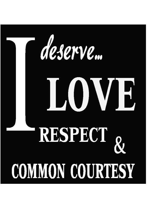 common courtesy and respect essay Free essay: how would the world differ without respect respect is  essay  about respect 663 words 3  where has our common courtesy and respect  gone.