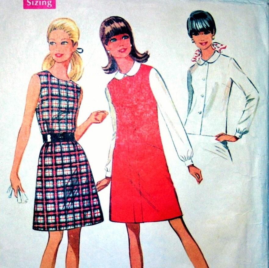 Womens Peter Pan Collar Blouse Pattern 10