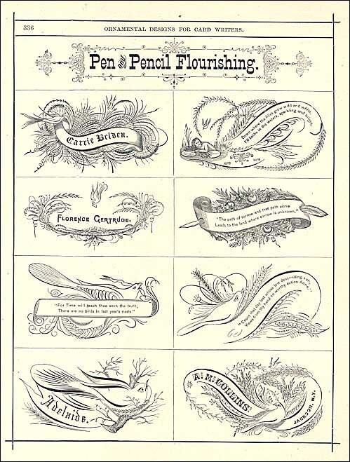 Victorian 1880's Ornamental Designs for by kelleystreetvintage