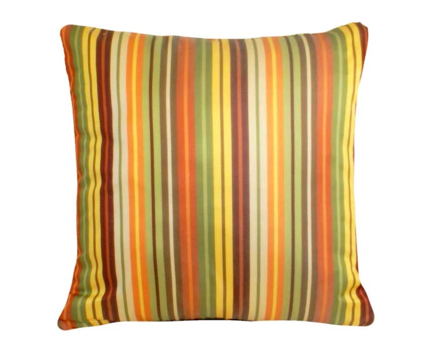 Colorful Striped Pillows Contemporary Pillow by PillowThrowDecor