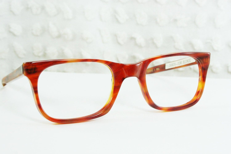 vintage 60s glasses 1960 s mens eyeglasses tortoise by