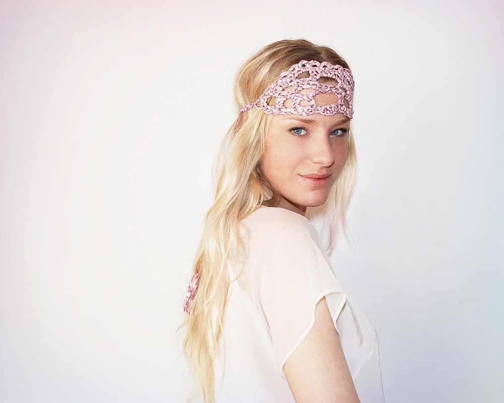 UTHA Dusty Rose Dreamcatcher headband - UTHAhats