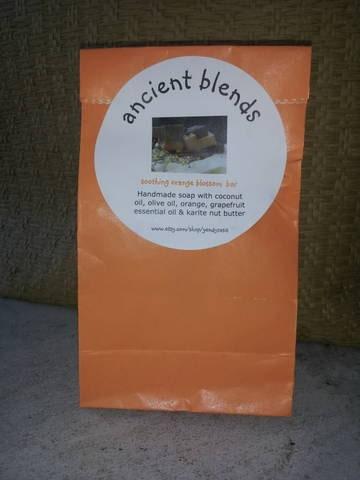 Ancient Blends Natural Orange Soaps