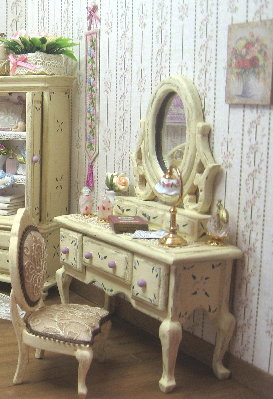 Mueble tocador estilo shabby victoriano por - Muebles de estilo romantico ...