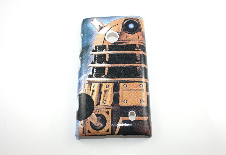 Dalek Dr Who Nokia Lumia 520 Hard Shell Case Skin Cover