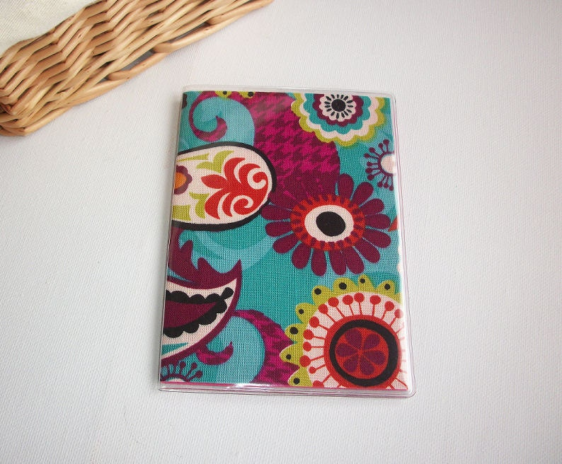 Passport Cover / Holder / Case - Chevron - Cosmo Paisley
