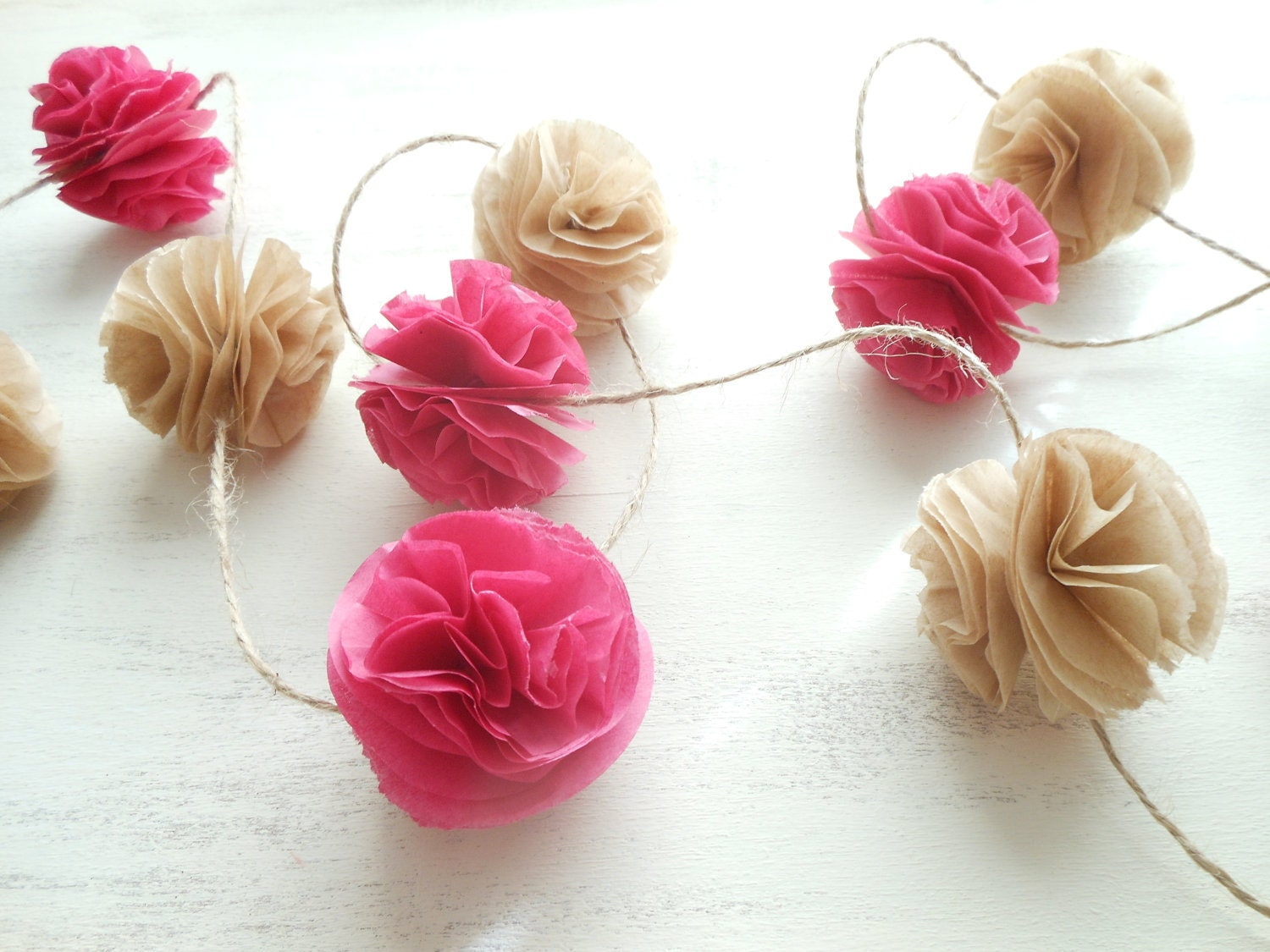 how to make tissue paper pom poms thoughtfully simple - HD1500×1125