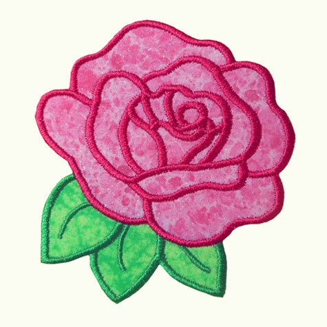 Free Flower Applique Machine Embroidery Designs