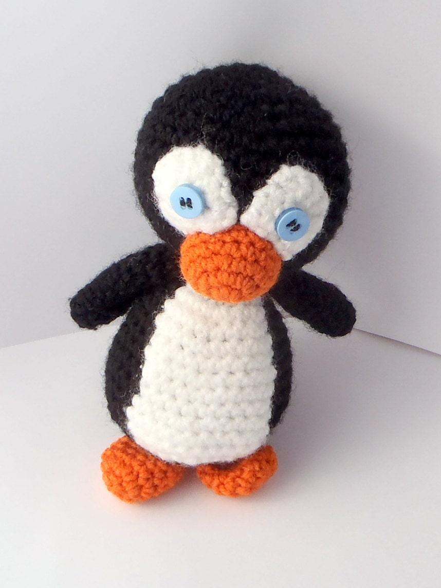 Amigurumi Penguin Crochet : Amigurumi penguin doll crochet by youbg