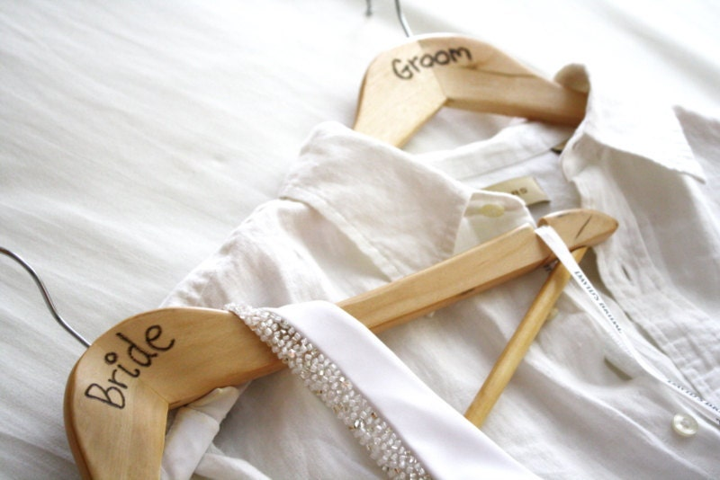 Bride and Groom Hangers