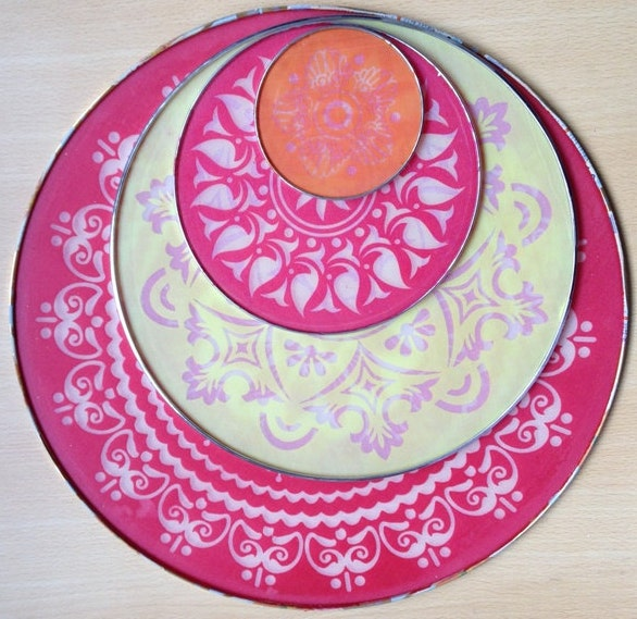 Unavailable listing on etsy for Home made rangoli designs
