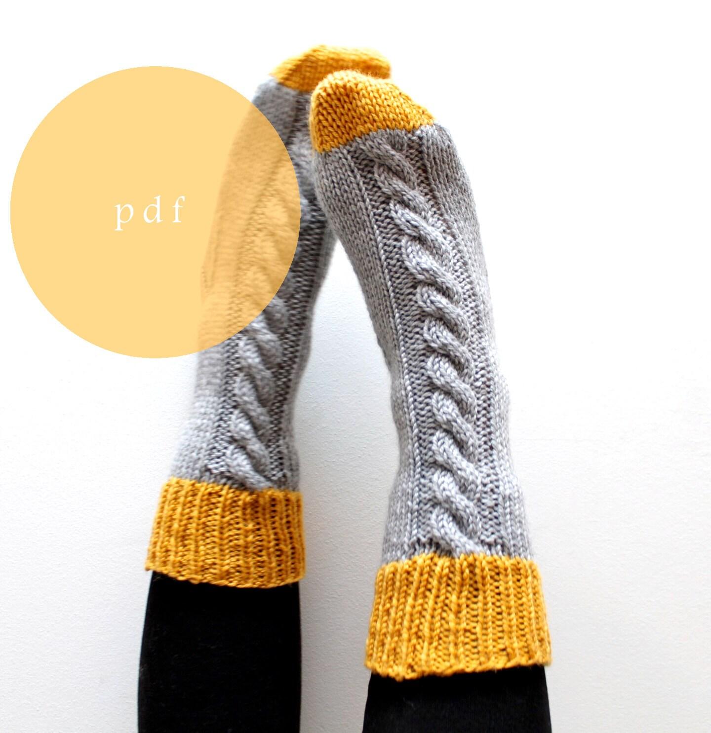 Free Knitting Patterns Bed Socks