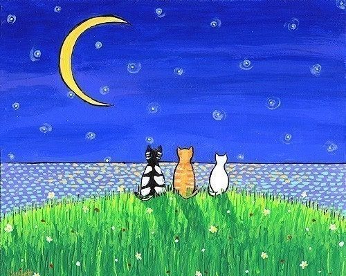 Three Cat Moon