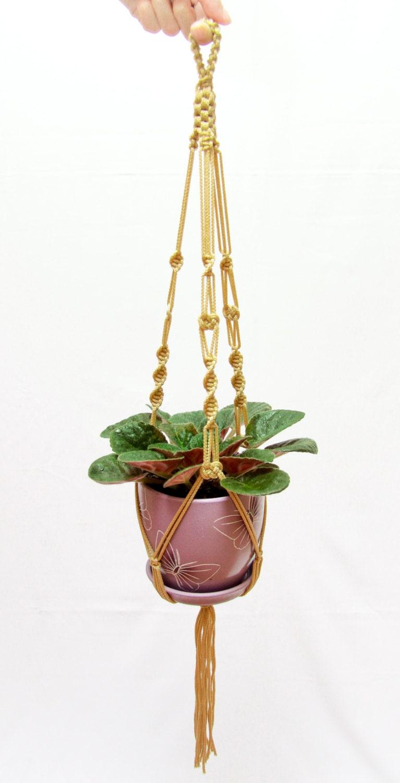 Plant Hanger - Indoor - Outdoor - Wedding Accessory - Macrame Plant ...