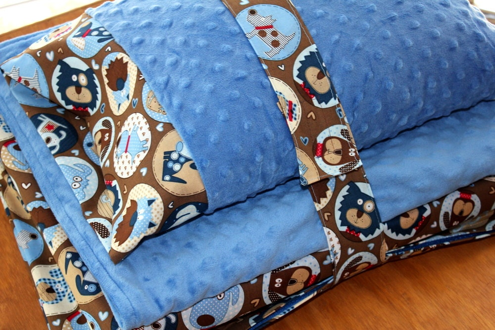 Boys Nap Mat Cover Puppies Choose Your By Thepinkroseboutique
