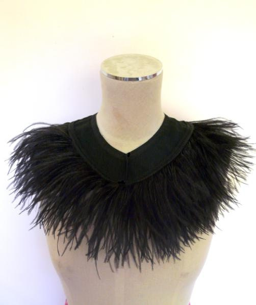 how to make a feather collar