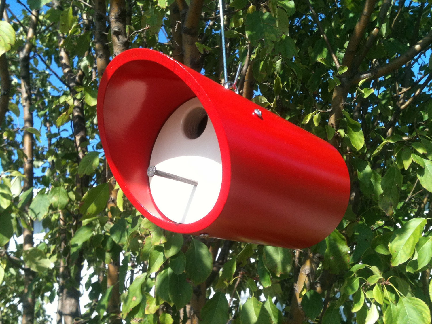 Pvc birdhouse by cedarhillwoodshed on etsy for How to make pvc pipe birds