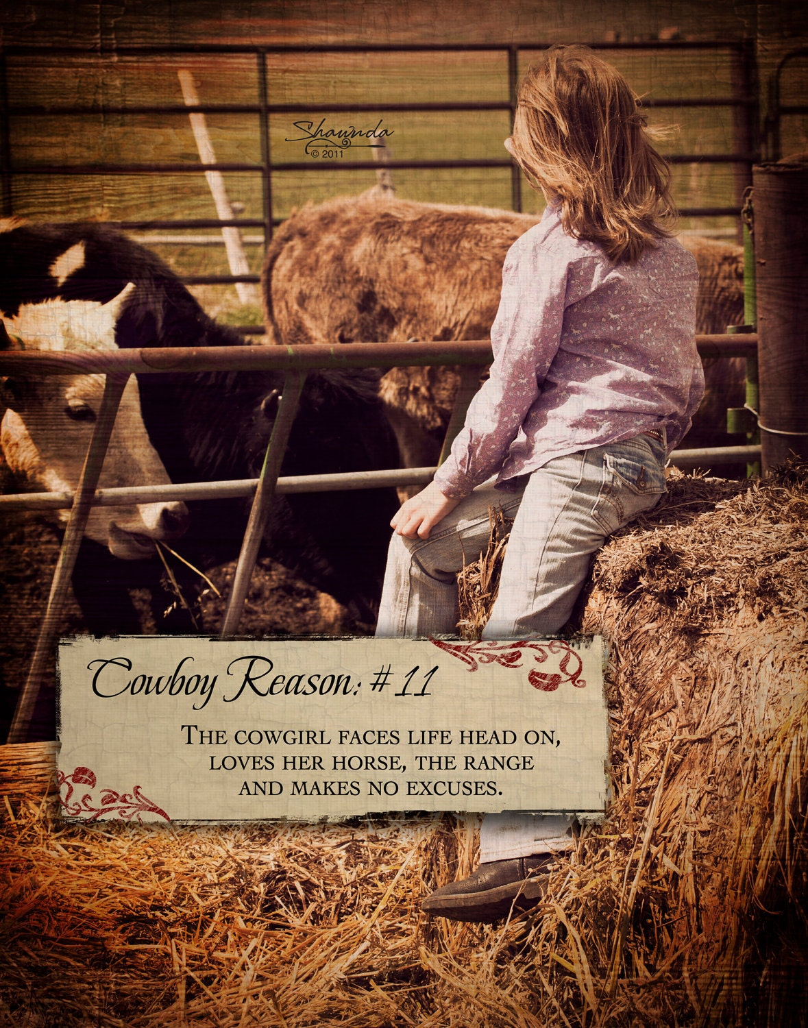 Cowgirl pictures with quotes