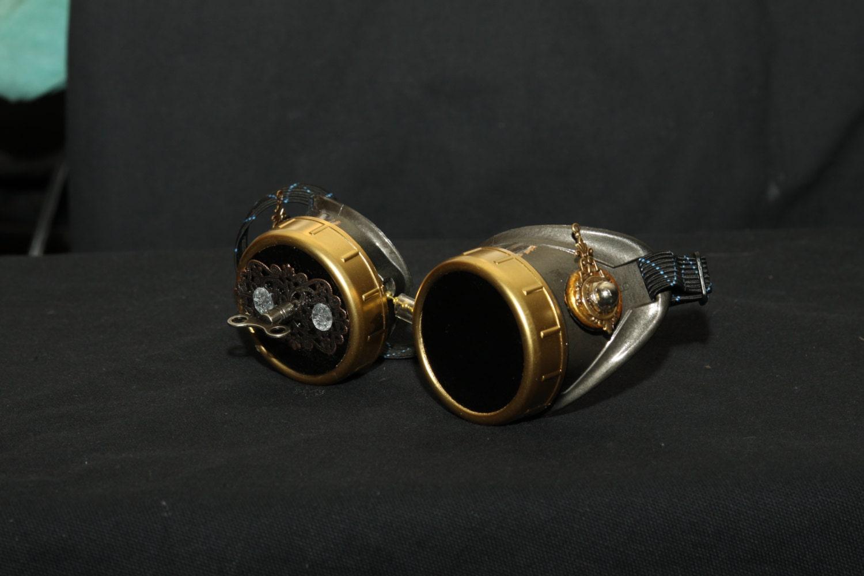 Cheie de Ceas Steampunk Goggles - Sector9Industrial