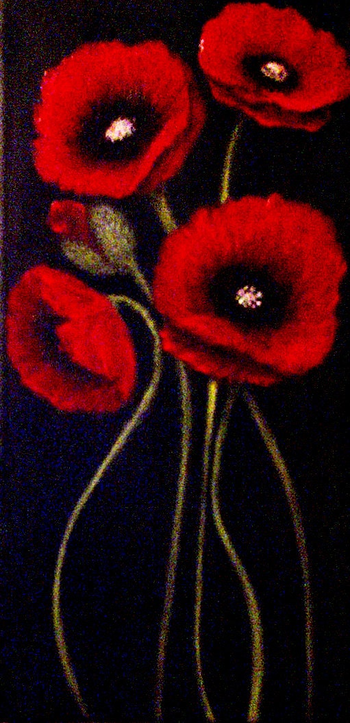 Etsy your place to buy and sell all things handmade for Dark red paintings