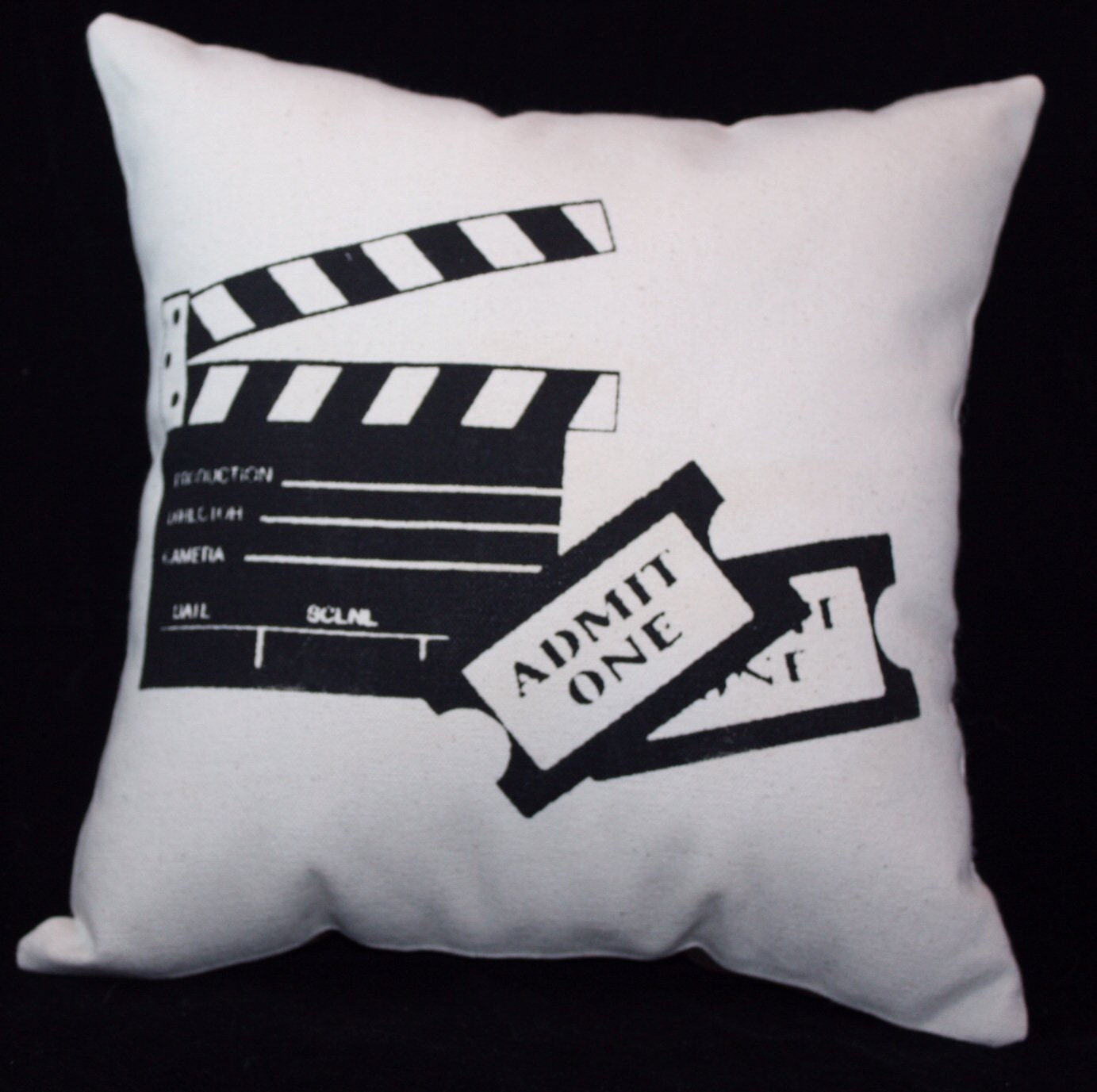 27 Cool Basement Home Theater Ready To Entertain: Home Theater Theatre Movie Pillow 12x12 MOVIE By