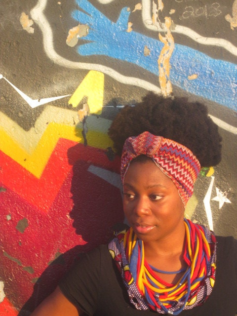 Queen Nandi Turban Headband