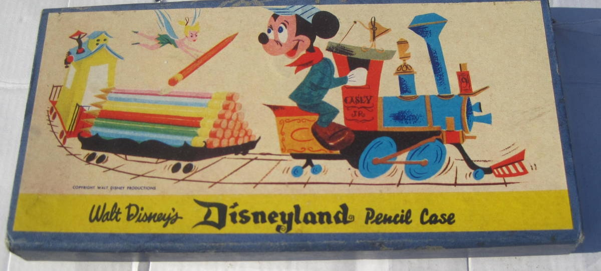 1960s Disneyland Pencil Case