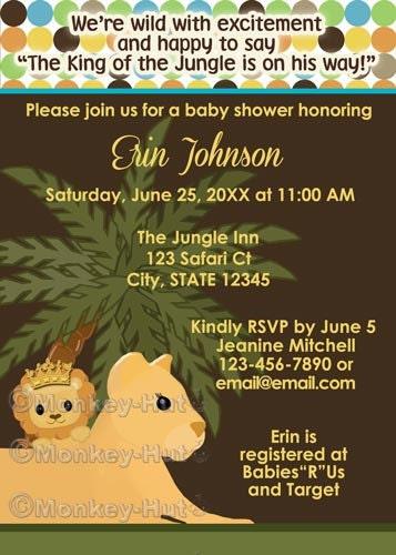 Lion king boy baby shower invitations lion king boy baby shower invitations photo15 filmwisefo