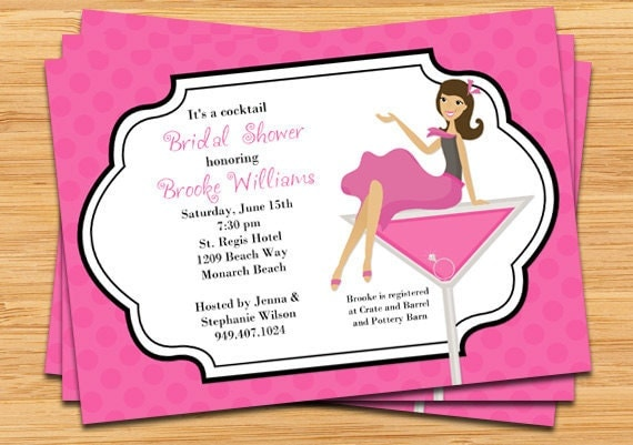Cocktail Party Invitation Cards as awesome invitations sample