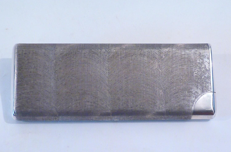 Very rare sterling silver GUCCI minaudiere ncessaire  solid silver minaudire carryalls luxury vanity cases ANTONIO FALLACI
