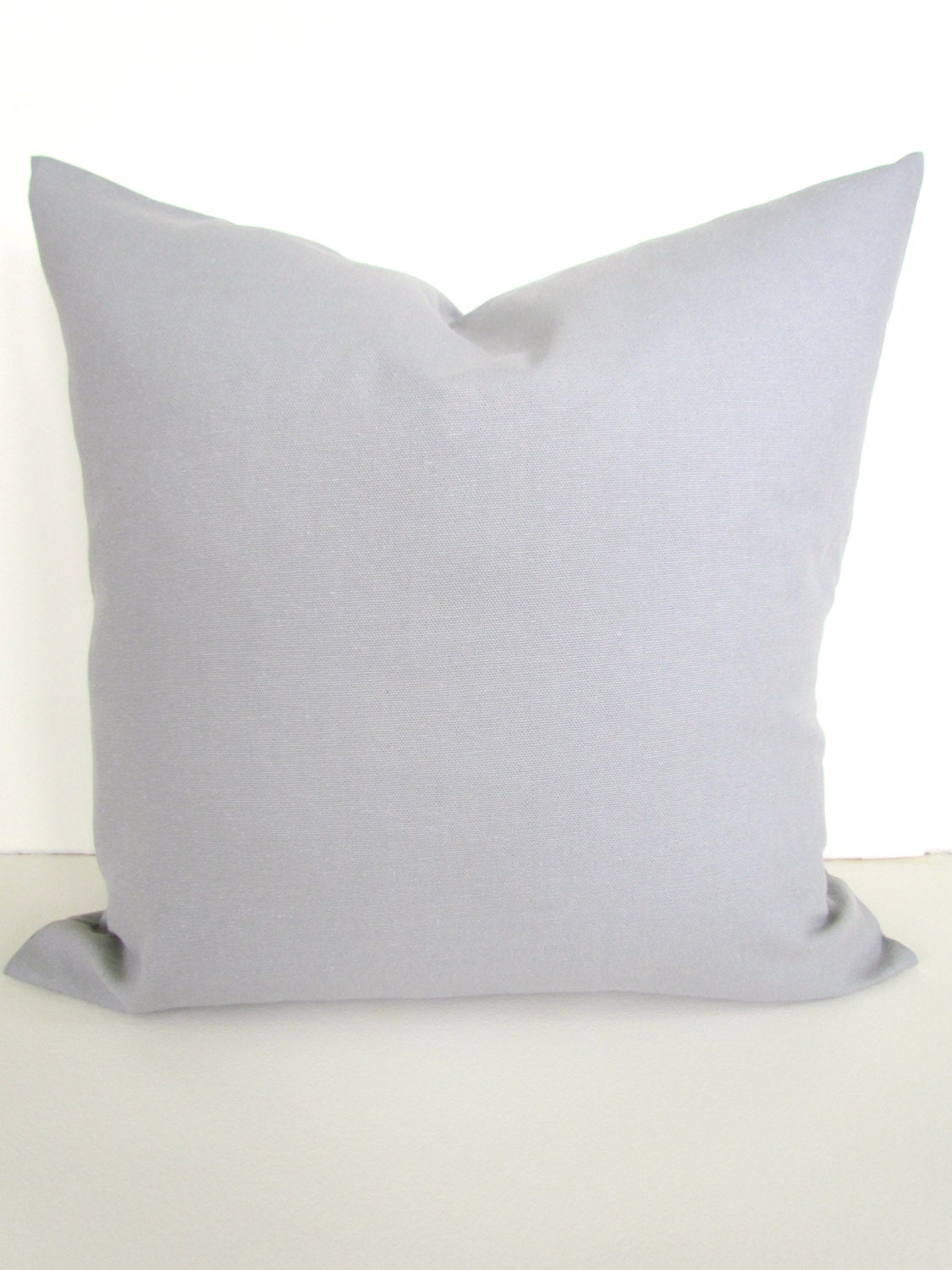 22x22 Throw Pillow Covers : PILLOWS 22x22 24x24 GRAY Throw Pillow Covers by SayItWithPillows