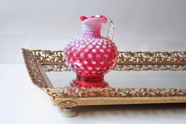 Vanity Perfume Mirror Tray By Modishvintage On Etsy