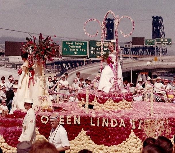 1963 Portland Rose Festival Original Photo By
