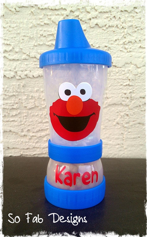 Elmo sippy cup