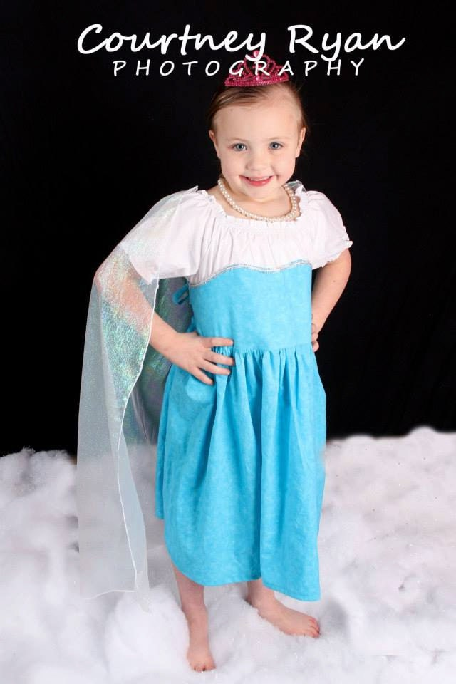 Frozen Dress Template Party Invitations Ideas