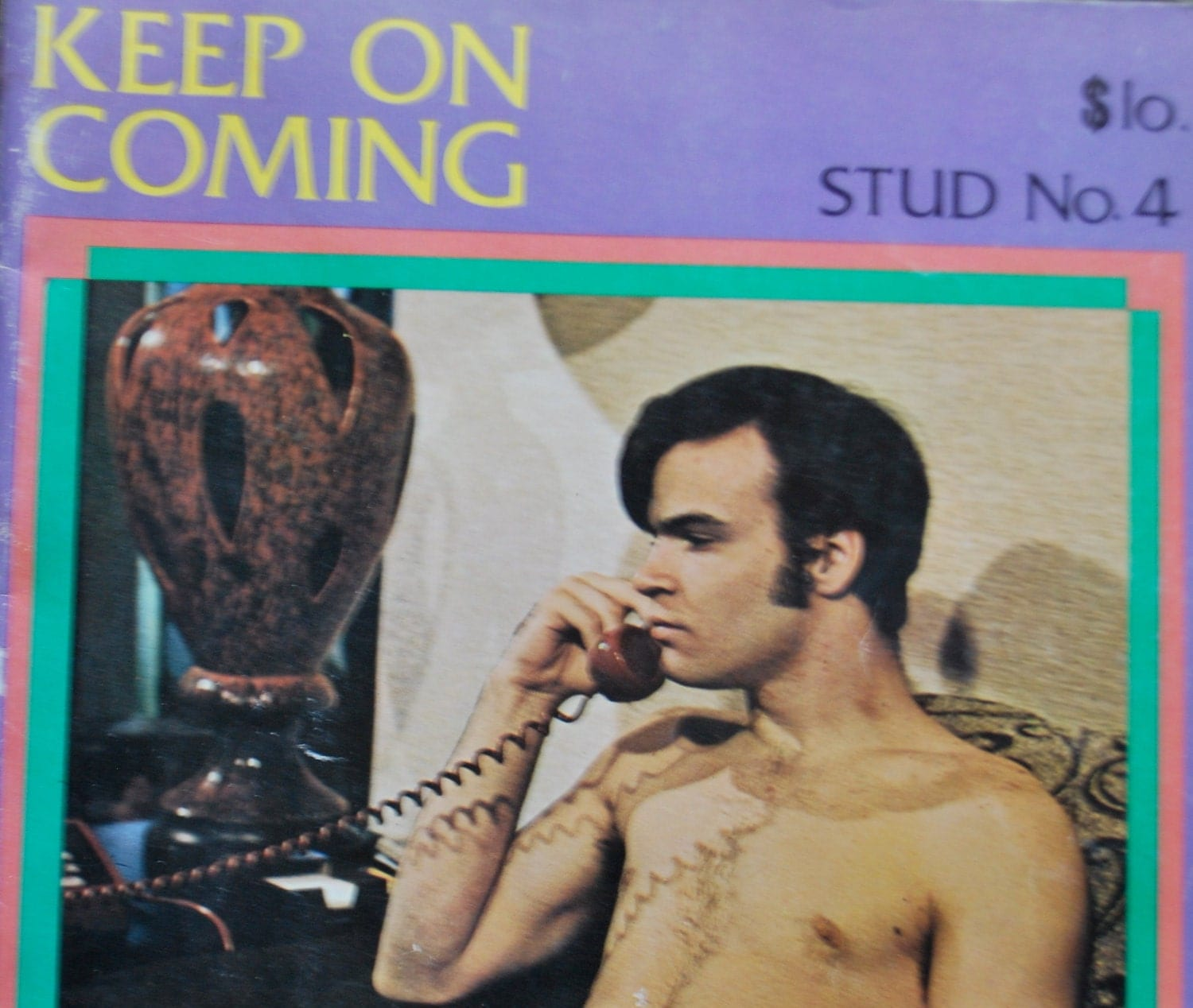 This is an ADULTS ONLY listing!!! This is a vintage 70s gay porn magazine ...