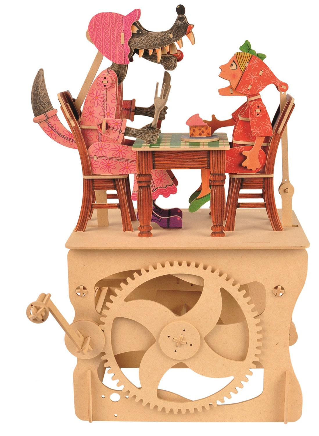Little Red Riding Hood  an automata kit for you to build with finished artwork  LMS 200