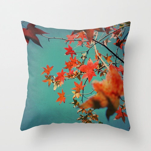Popular items for orange pillows on Etsy