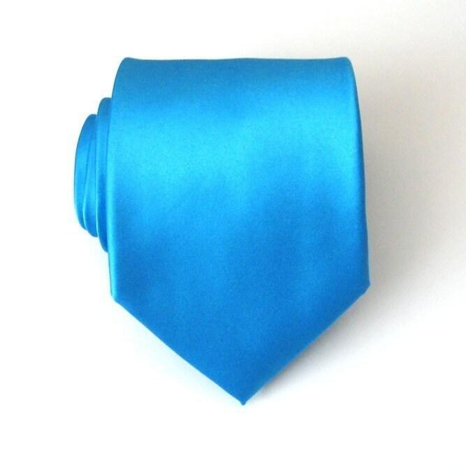 mens necktie cornflower blue silk necktie by tieobsessed