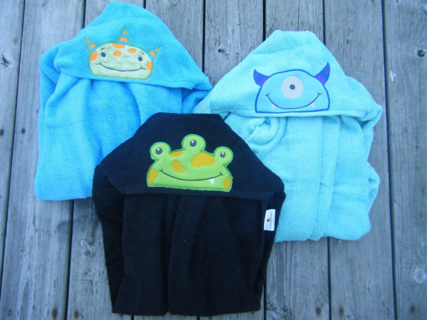 Popular items for monster towel on Etsy