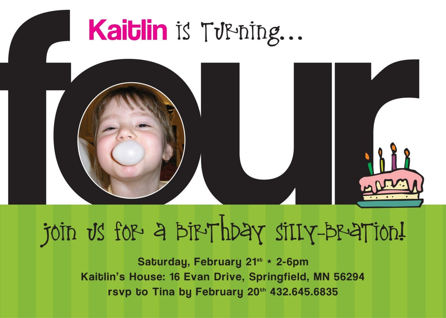 5Th Birthday Party Invitations for perfect invitations layout