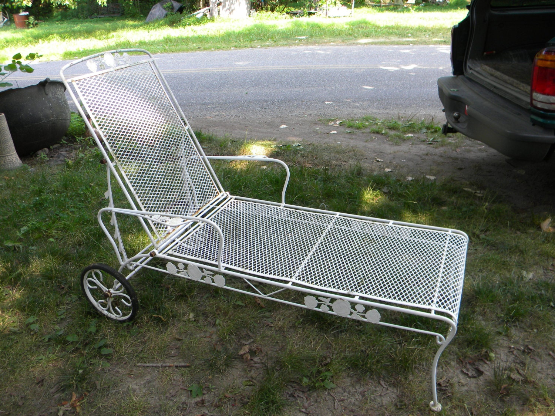 Nice shape sturdy vintage mid century salterini by score571 - Chaise metal vintage ...