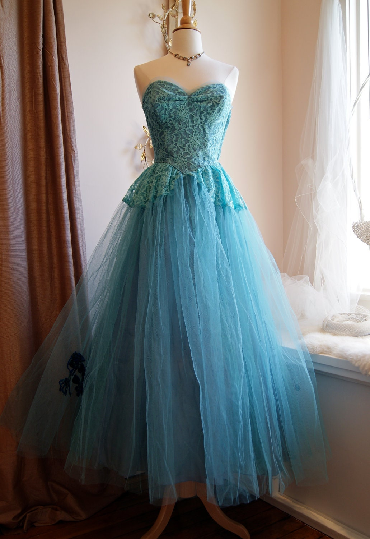 50s Dress 50s Prom Dress