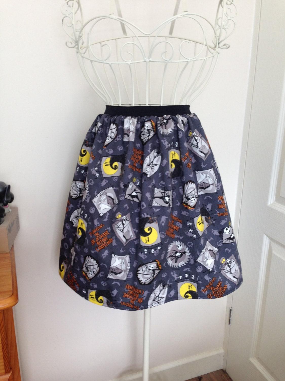 Nightmare Before Christmas skater style skirt